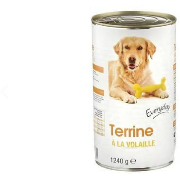 DOG FOOD EVERYDAY TERRINE PATE A LA VOLAILLE 1240GM - AfriMarket