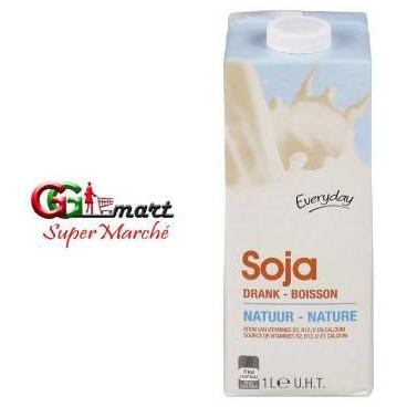 1L EVERYDAY LAIT DE SOJA NATURE DRINK - AfriMarket