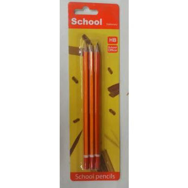 PENCIL HB SCOOL 3PC - AfriMarket