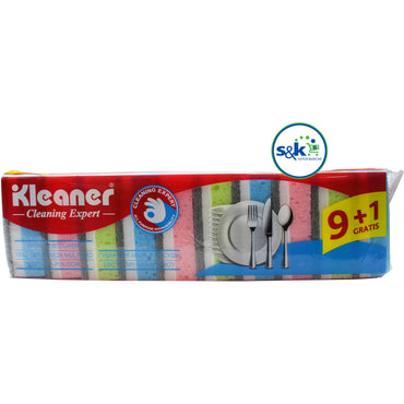 EPONGE VAISSALLE KLEANER 10PC NO.GSH003 (SF61)