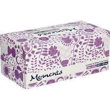 Facial Tissues Lavender&White Moments 200s Pack 100g - AfriMarket