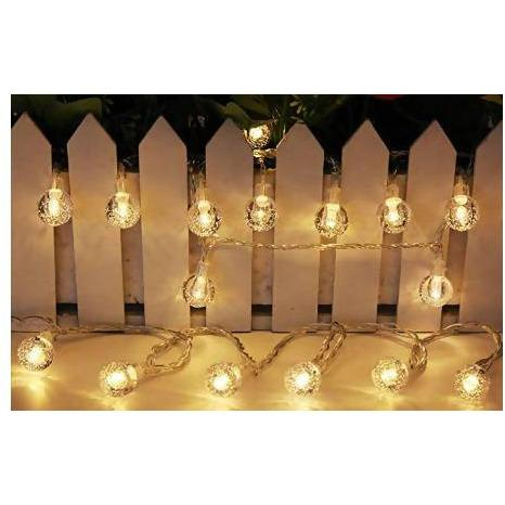 Santa's Choice Warm White Battery Operated LED Lights 40 Pack - AfriMarket