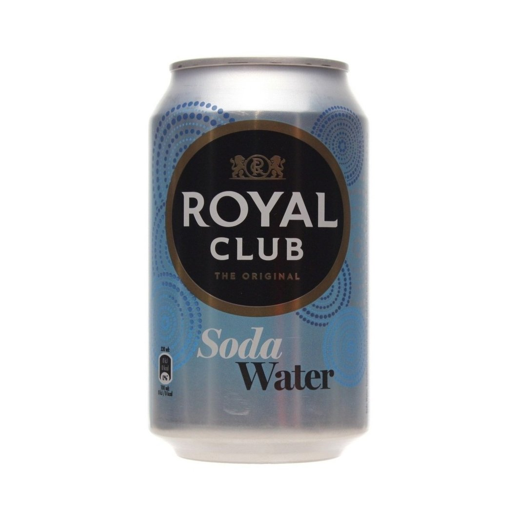 Royal club soda water 33cl