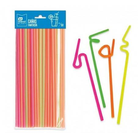 Straws Spiral Party Things - AfriMarket