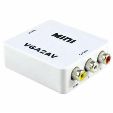 VGA TO AV CONVERTOR WITH POWER - AfriMarket