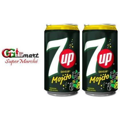 2PCS X 330ML 7UP MOJITO - AfriMarket
