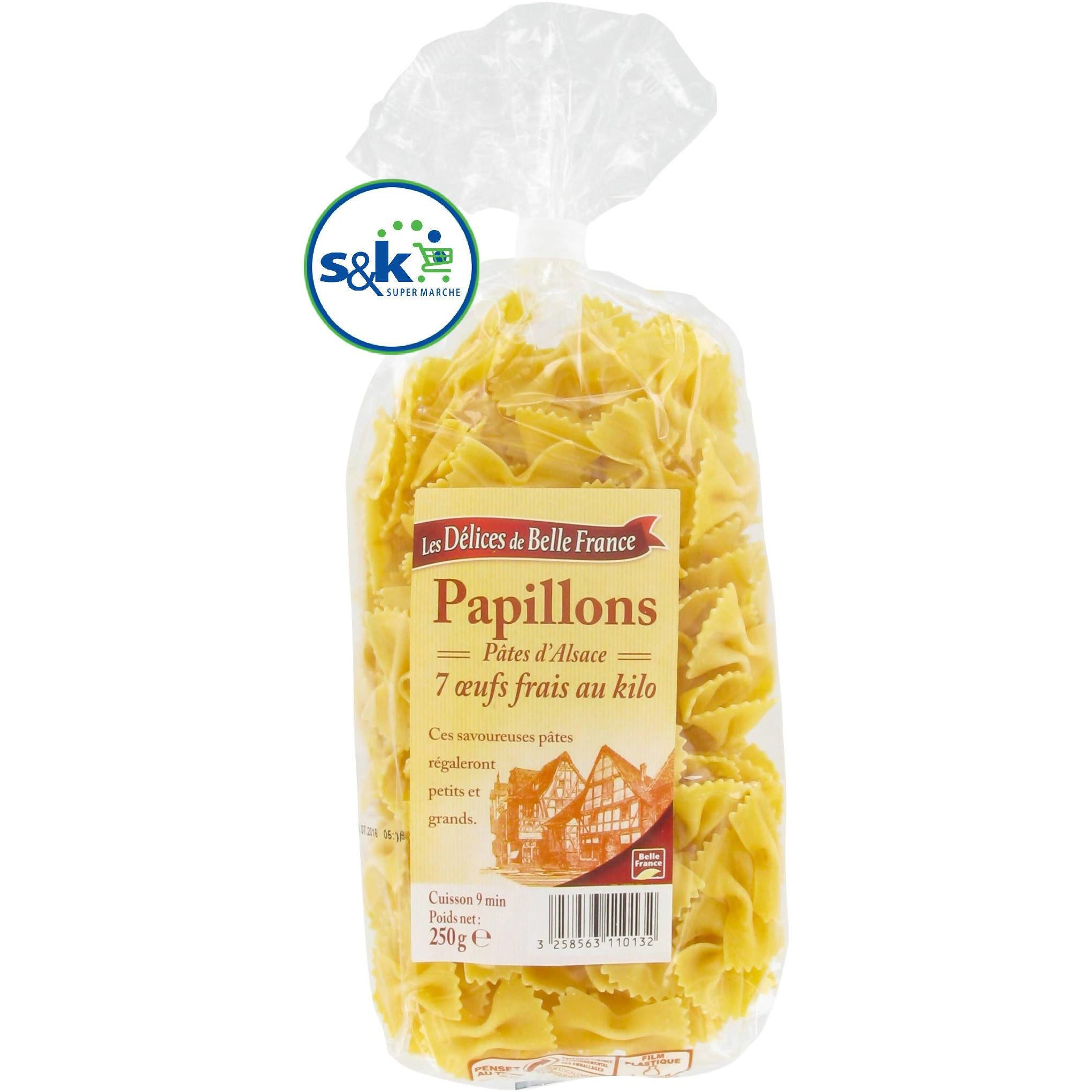 PAPILLONS BELLE FRANCE 250GM