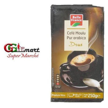 250G BELLE FRANCE CAFE MOULU PUR ARABICA - AfriMarket