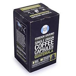 Coffee Capsule Guatemala Foreign Ground 10s Pack 50g - AfriMarket