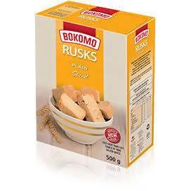 Rusks Plain Sliced Bomoko 500g Pack - AfriMarket