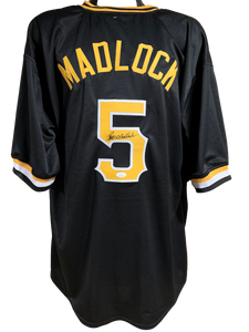Bill Madlock Authentic Autographed Pittsburgh Pirates Custom Jersey - JSA COA