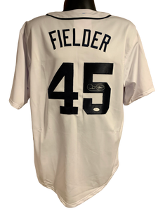 Cecil Fielder Authentic Autographed Detroit Tigers Custom Jersey - JSA COA