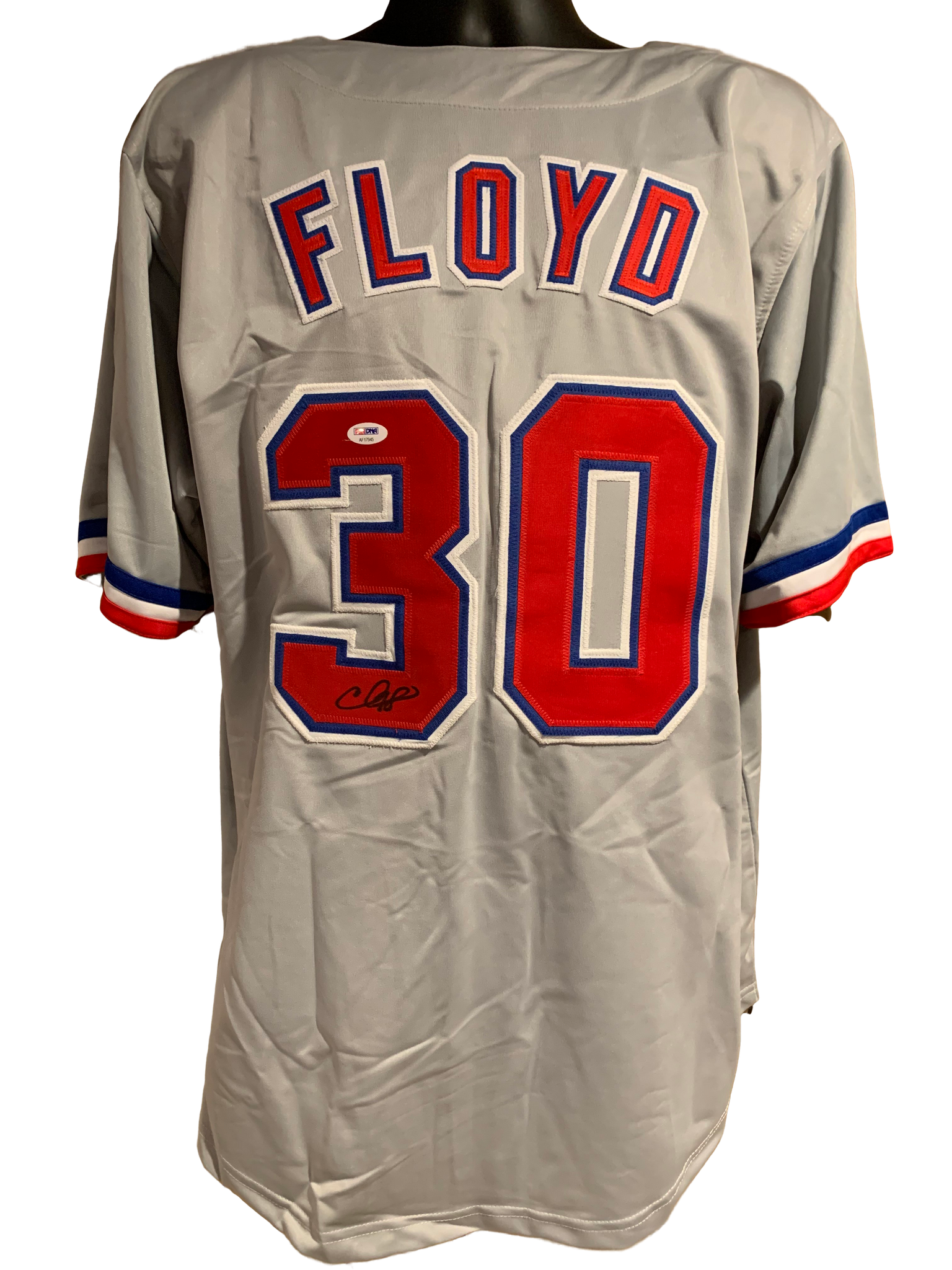 Cliff Floyd Authentic Autographed Montreal Expos Custom Jersey - JSA COA