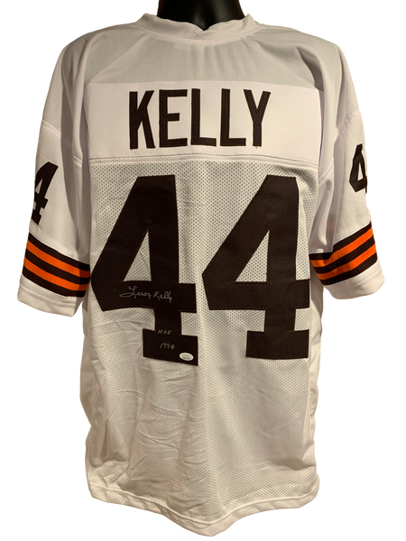 Leroy Kelly Authentic Autographed Cleveland Browns Custom Jersey - JSA COA