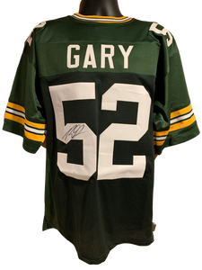 Rashan Gary Authentic Autographed Green Bay Packers Custom Jersey - JSA COA