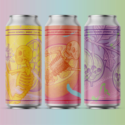 NEW BEER RELEASE - SINGLE HOP SINGLE FRUIT SERIES - ARTWORK FROM WILL BLOOD