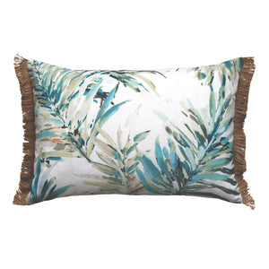 Florida aqua lumbar cushion