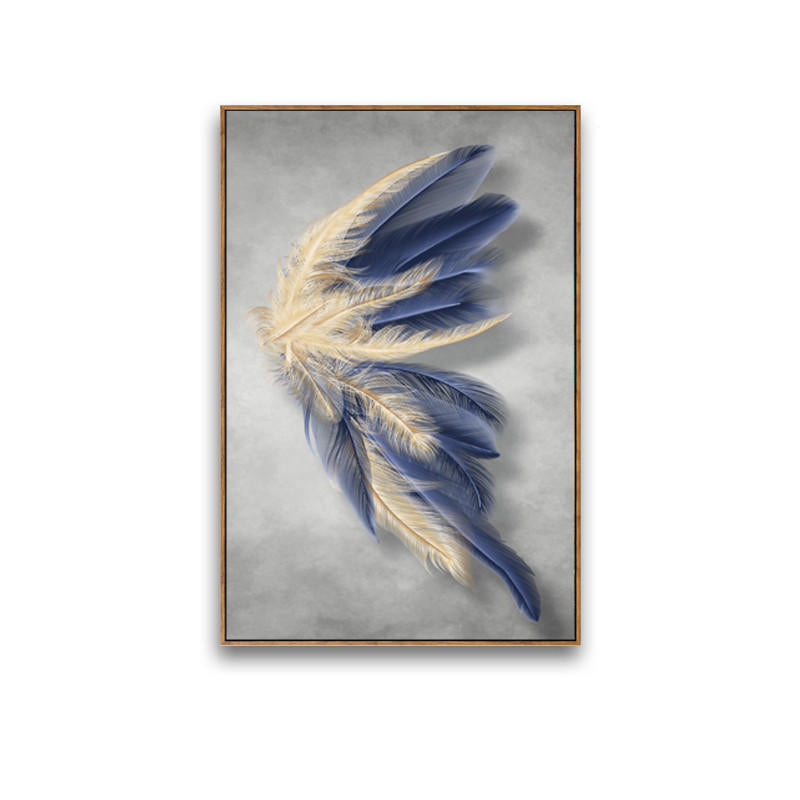 Angel Feathers 1 canvas