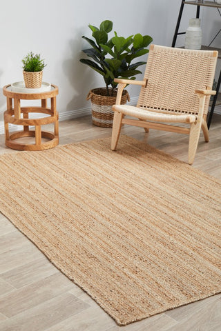 Bondi jute braided rug - natural