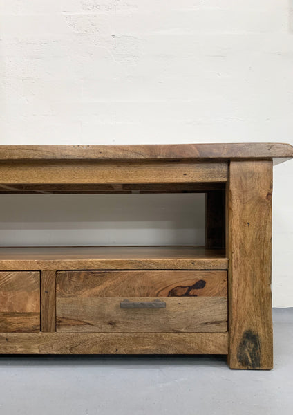 Highlands TV Unit 3-Bottom Drawer