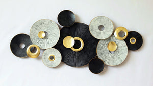 New circles metal art