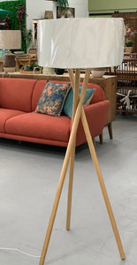 Fairbank tripod floor lamp