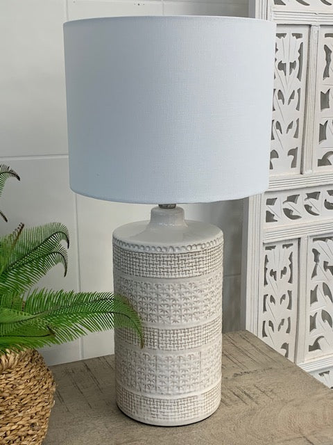 Coast ceramic lamp
