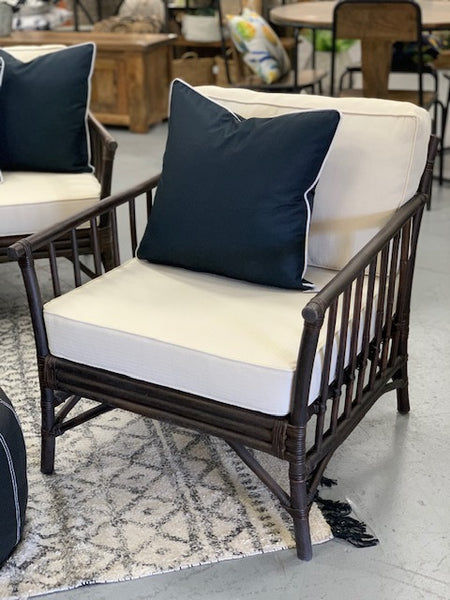 Eden 3 piece cane lounge setting