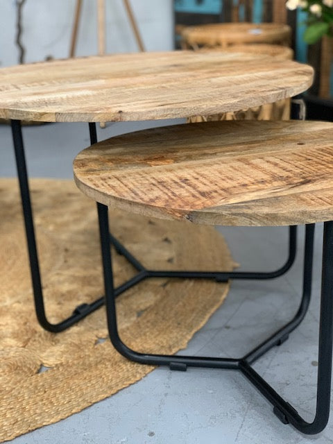 Cabarita nest of tables