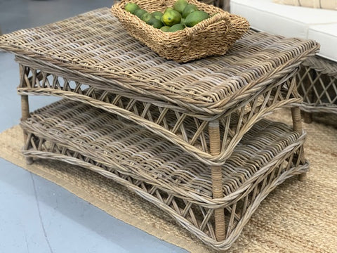 Oaklands woven coffee table