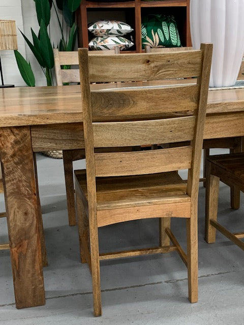 Lyon timber dining chair