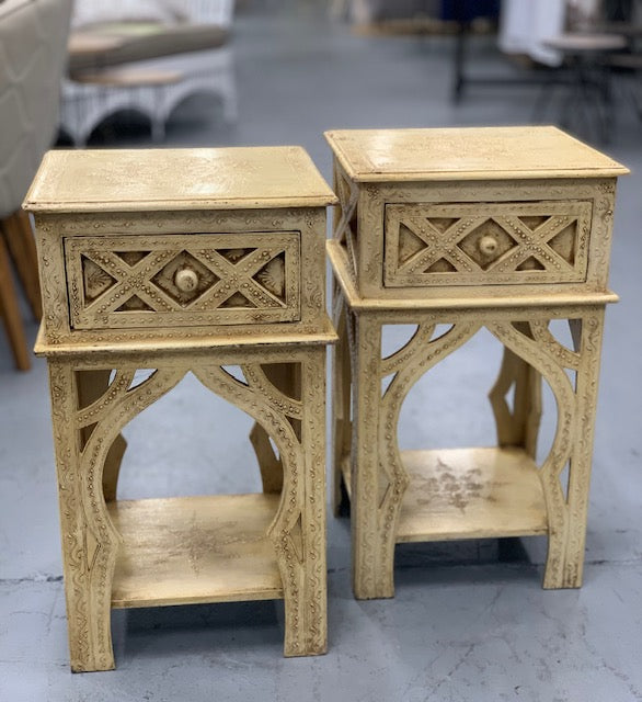 1 Drawer Indian side table