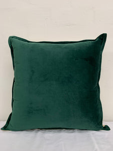 Forest plain velvet cushion