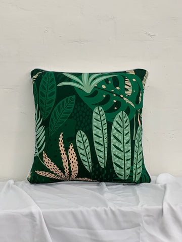 Jungle Forrest Pink Cushion