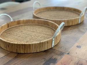 Fairhaven round serving trays