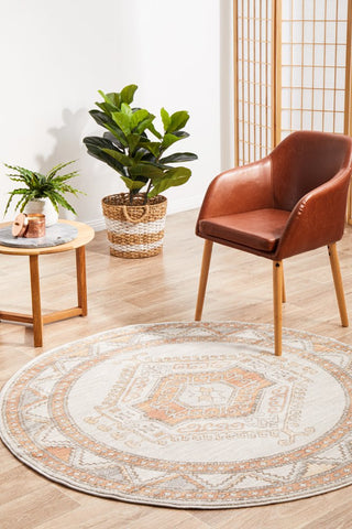 Mayfair round rug - Caitlen (natural)