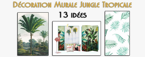 Déco Murale Jungle Tropicale