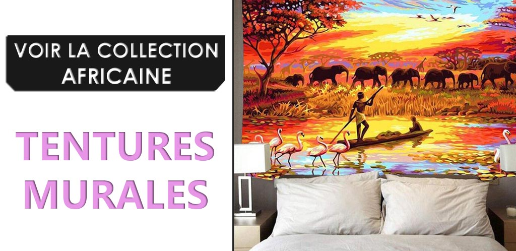 Collection de tentures murales Africaines