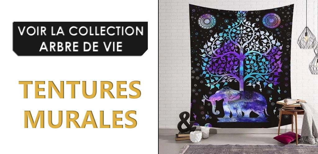 Collection de Tentures Murales Arbre de Vie