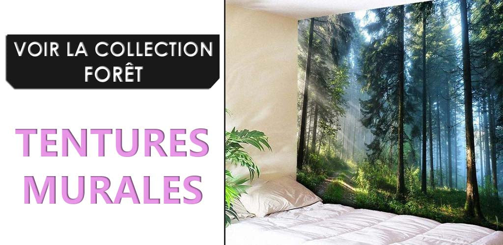 Collection Tentures Murales Forets