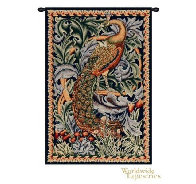 L'image de la Tapisserie du Paon William Morris