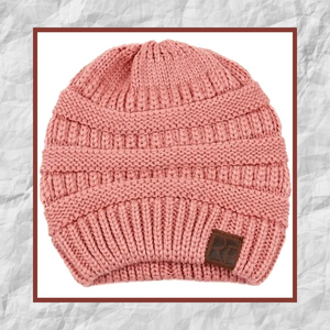 Cozy Beanie (Dust Pink)