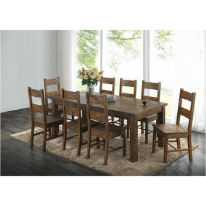 Rustic Golden Brown Dining table  2332