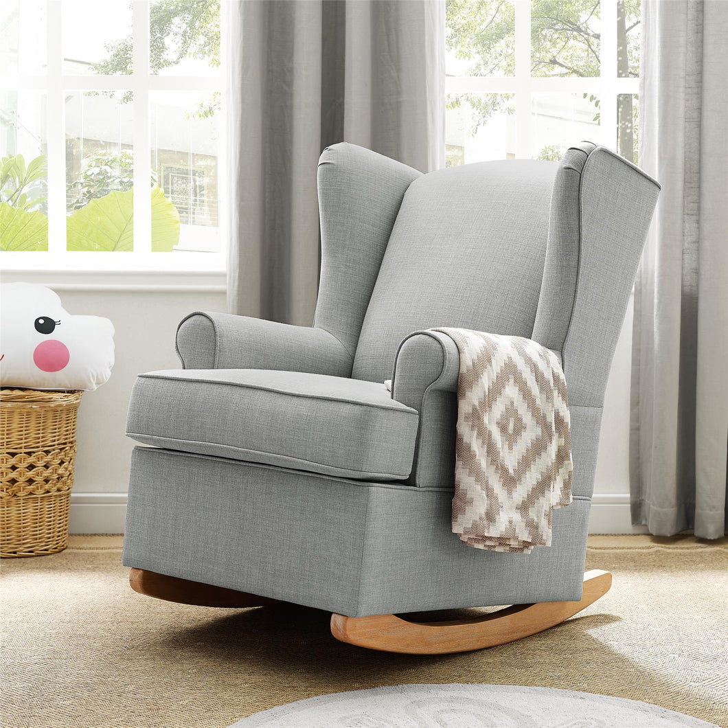 Brennan Wingback Convertible Rocker  #mp3398