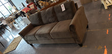 "Load image into Gallery viewer, Celestia Microfiber / Microsuede 78.75"" Flared Arms Sofa"