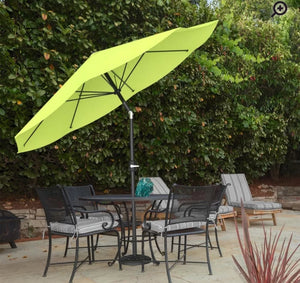 Kelton 10' Market Umbrella in Lime Green   #4349