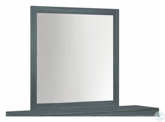 Julian Dark Gray Oak Mirror Only  #4095