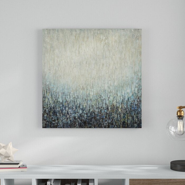 'Pearl' Painting Print on Wrapped Canvas #6045