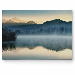 'Quiet Morning' - Wrapped Canvas Photograph Print 2012