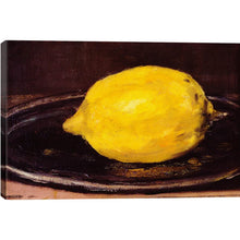 Load image into Gallery viewer, 'The Lemon' by Edouard Manet Painting Print  2319